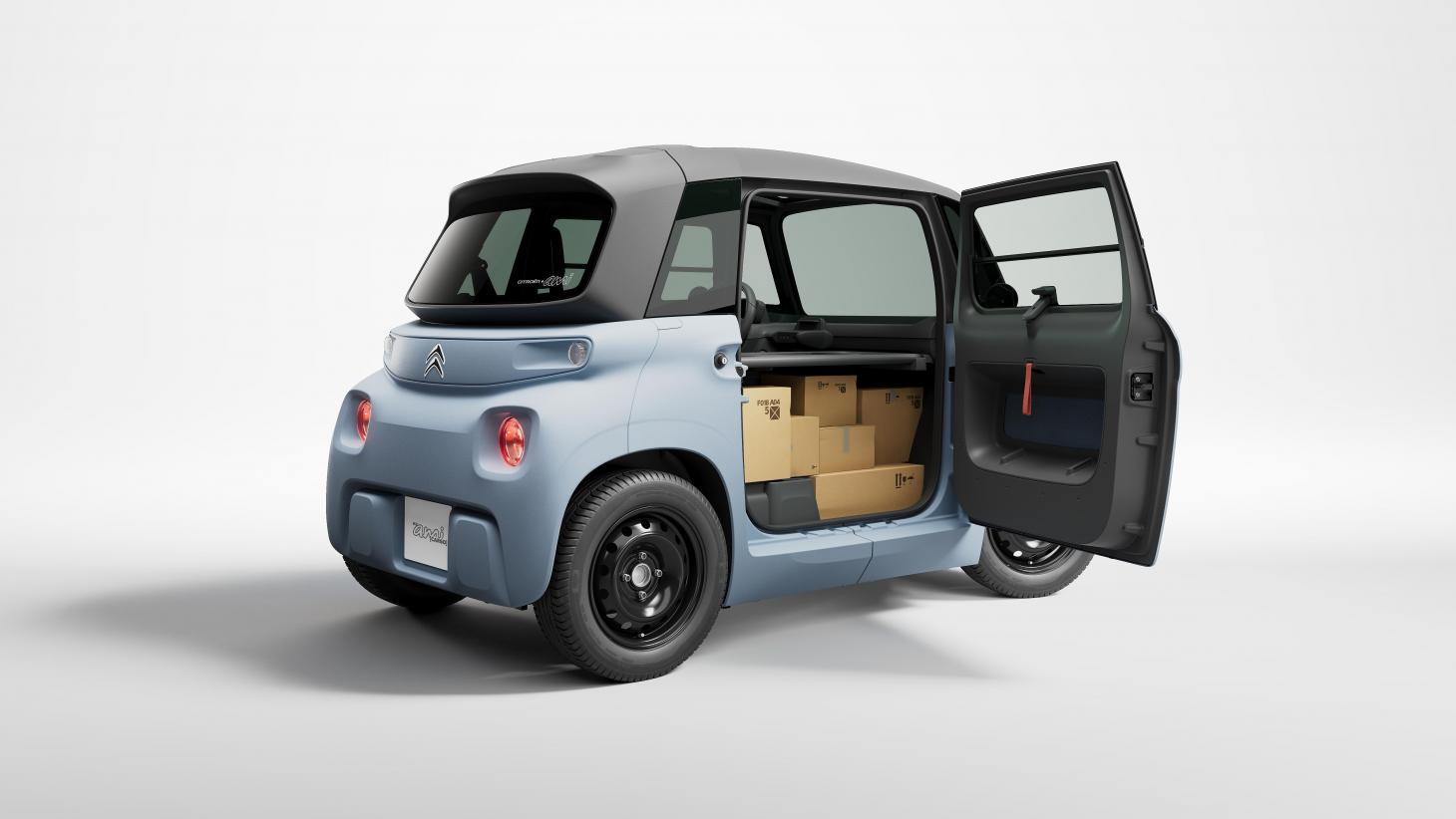 The new Citroën My Ami Cargo, an ultra-compact electric delivery van