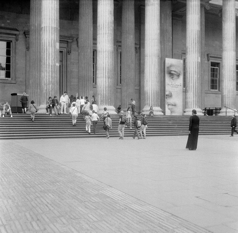 Curated by Antwaun Sargent, and featured in the show 'Social works' At Gagoian New York is Carrie Mae Weems,The British Museum, 2006
