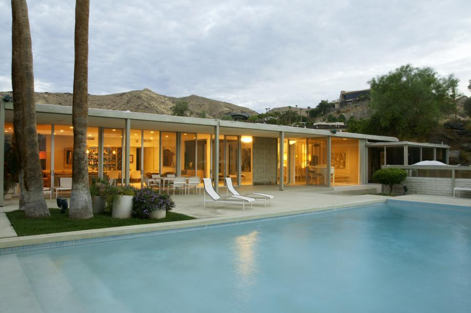 Cody house in palm springs