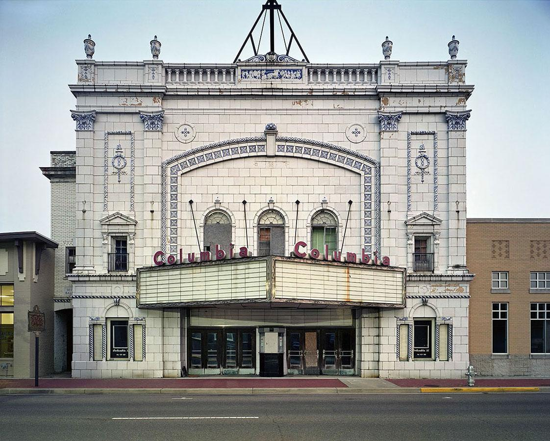 Columbia Theatre, Paducac, KY, 2011 derelict movie theaters