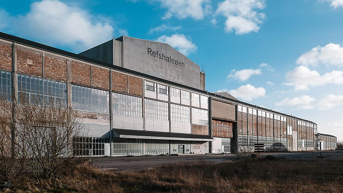 Burmeister & Wain's former welding hall and the new home of Copenhagen Contemporary.