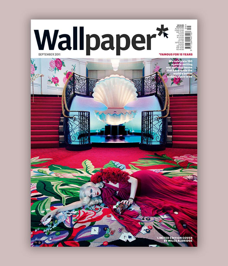 The15th anniversary issue of Wallpaper*(W*150), featuringlimited-edition cover by Miles Aldridge