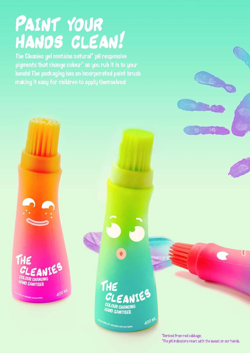 The Cleanies hand sanitisers