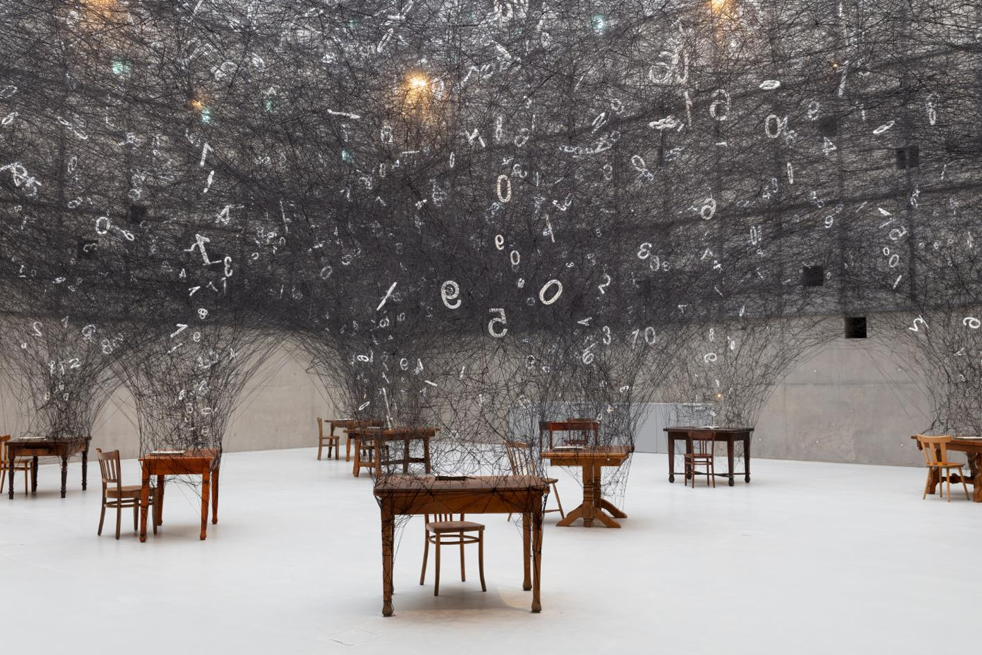 Counting Memories, a site-specific installation for the Muzeum Śląskie w Katowicach in Katowice, Poland