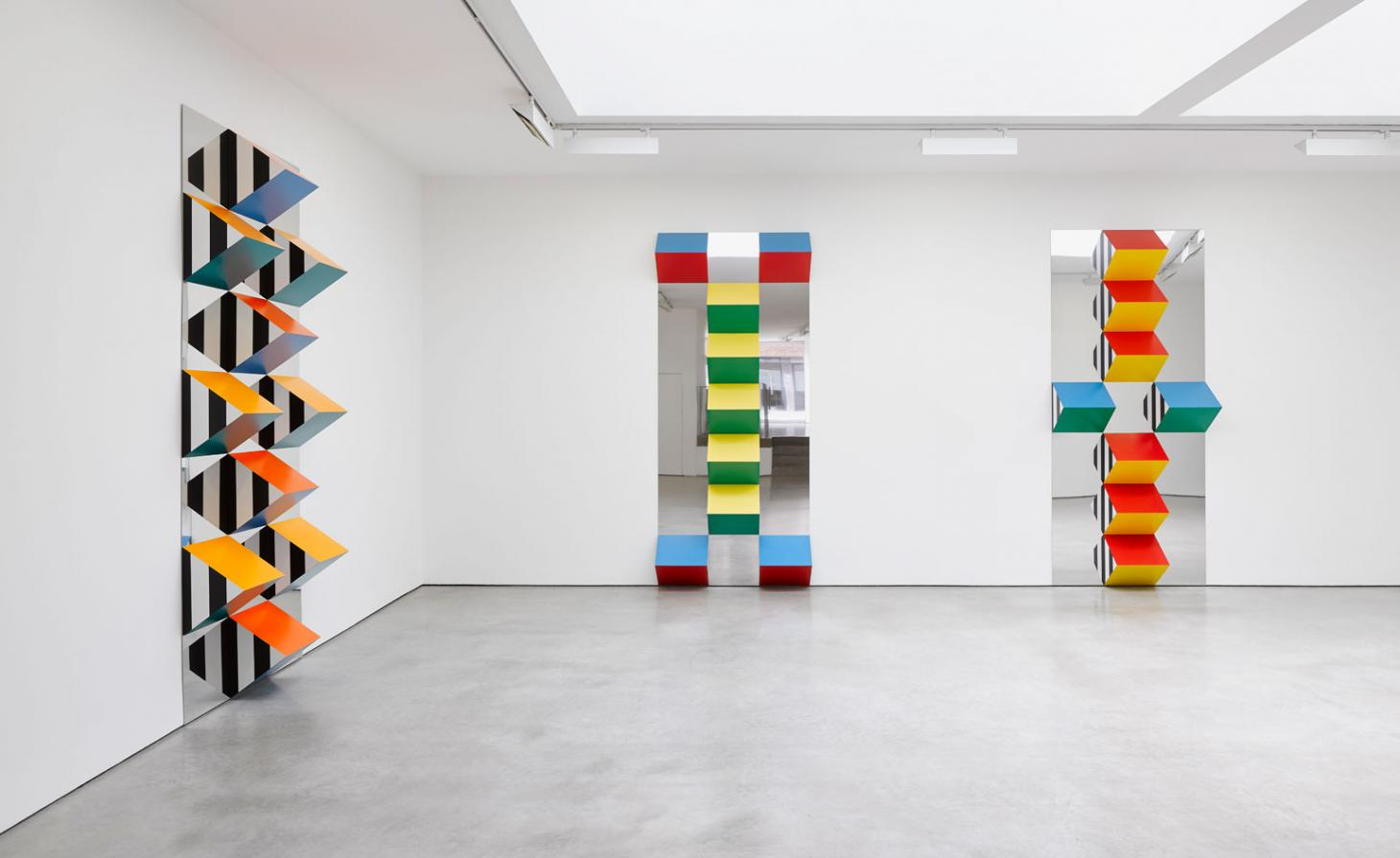 Daniel Buren at the Lisson Gallery