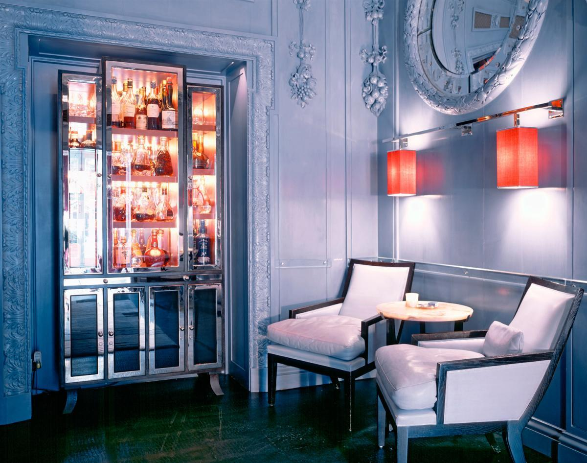 The Blue Bar at the berkeley hotel by David Collins