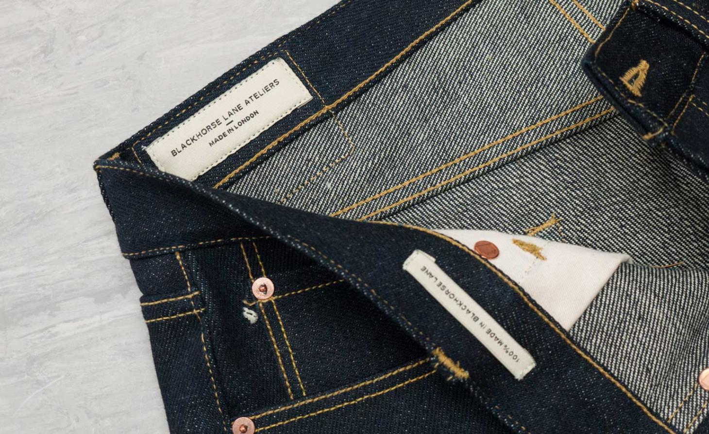 Blackhorse Lane denim close up