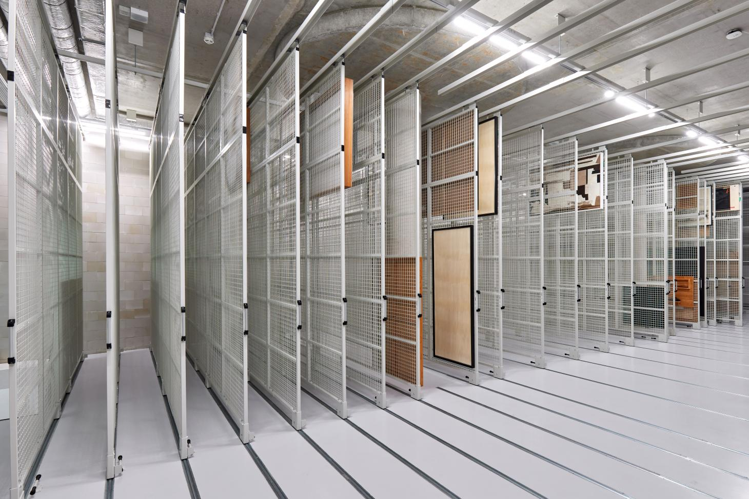 storage facilities at the new boijmans depot by mvddv