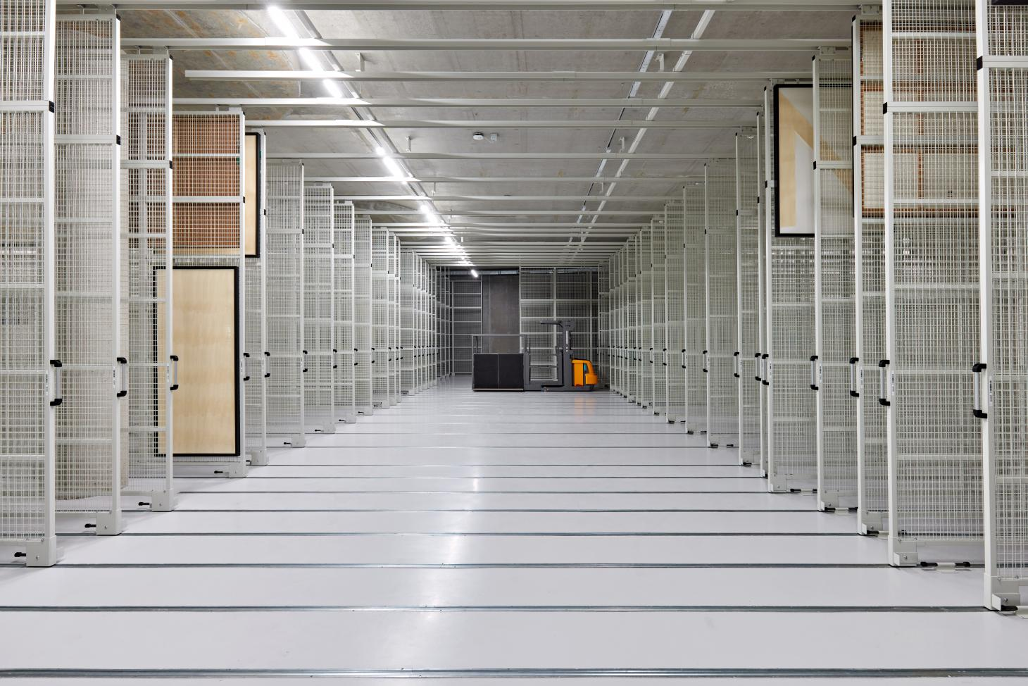 art storage is available for all to see at the Boijmans Depot in Rotterdam