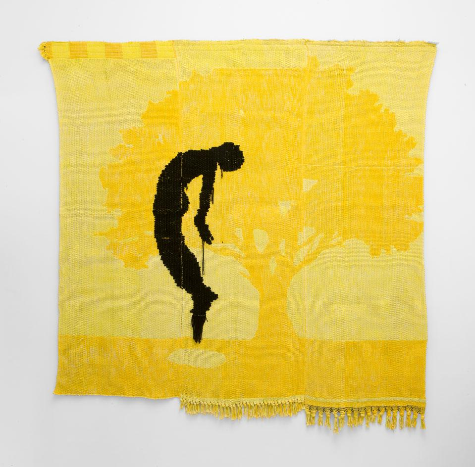 Diedrick Brackens, summer somewhere 2020, woven, part of the most mind-blowing textile artists
