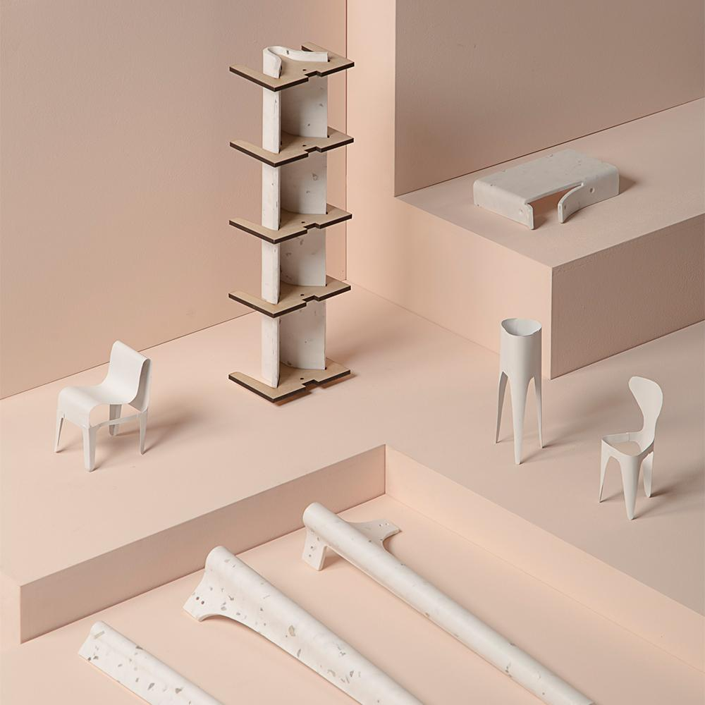 designs by Alexander Schul, winner of the Diploma Selection at Designblok