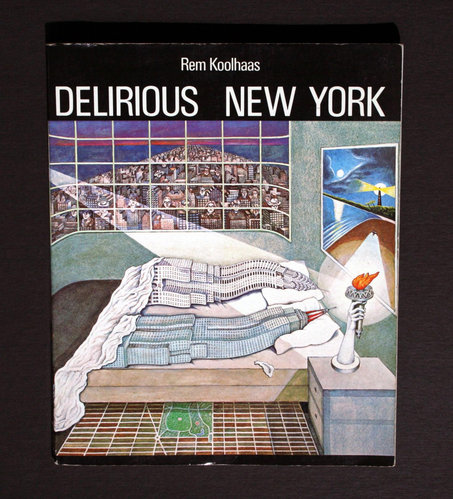Delirious new york magazine cover by Rem Koolhaas