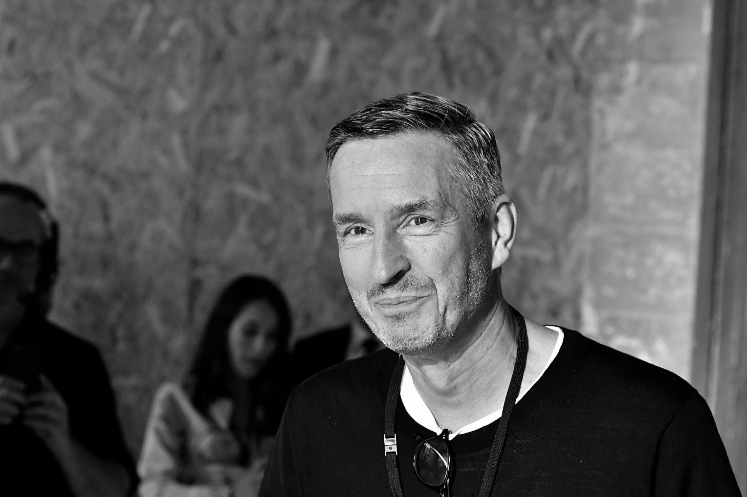 A portrait of Dries Van Noten
