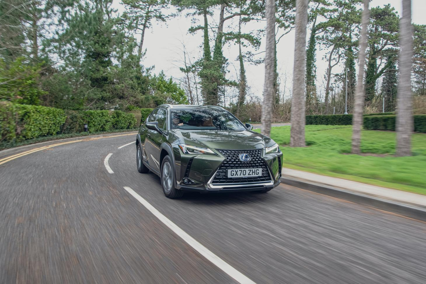 The Lexus UX 300e is the brand's first pure electric car is a spirited performer