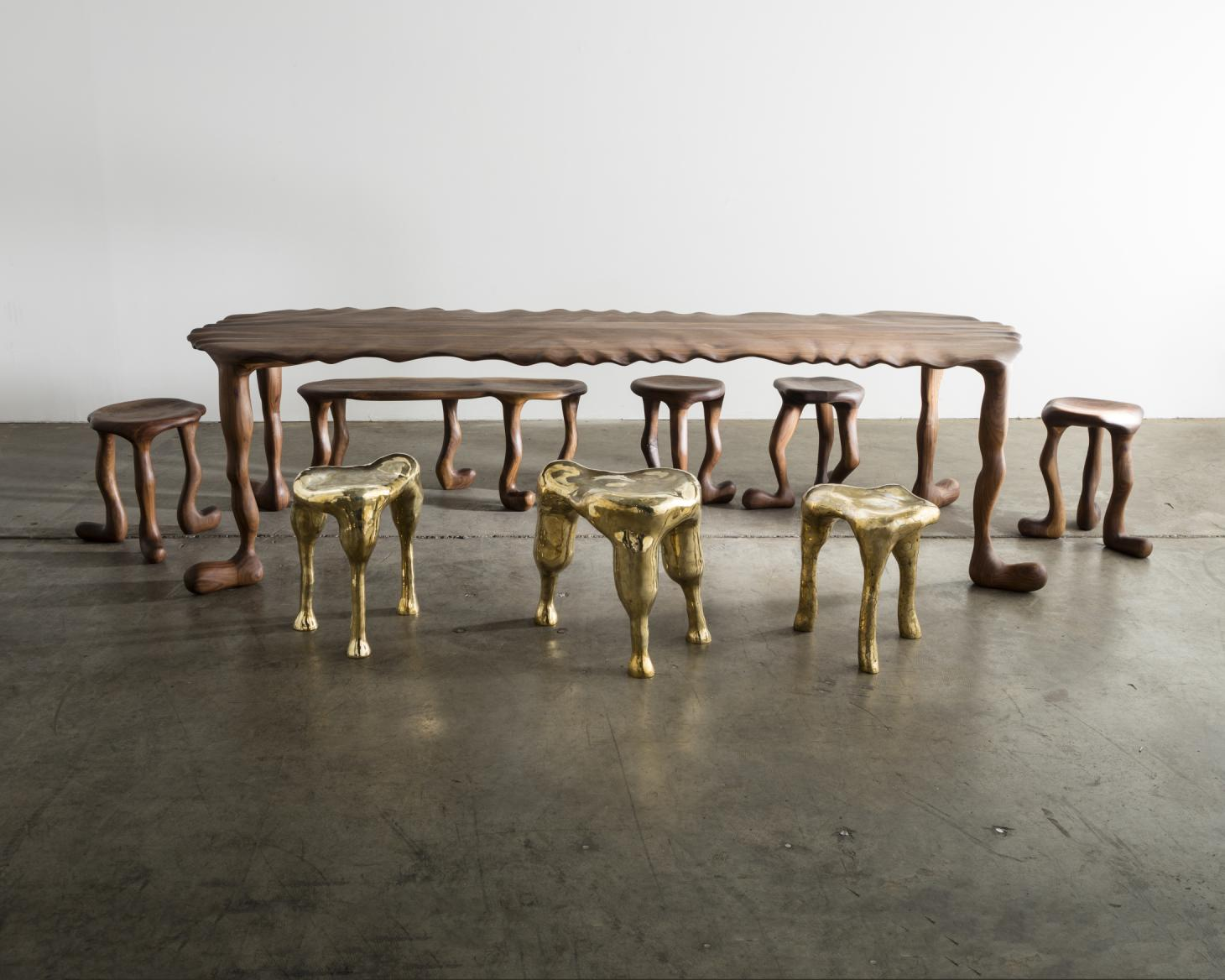 R & Company sets the table in new show on dining furniture
