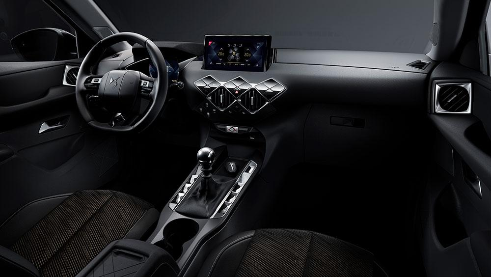 DS3 Crossback cabin
