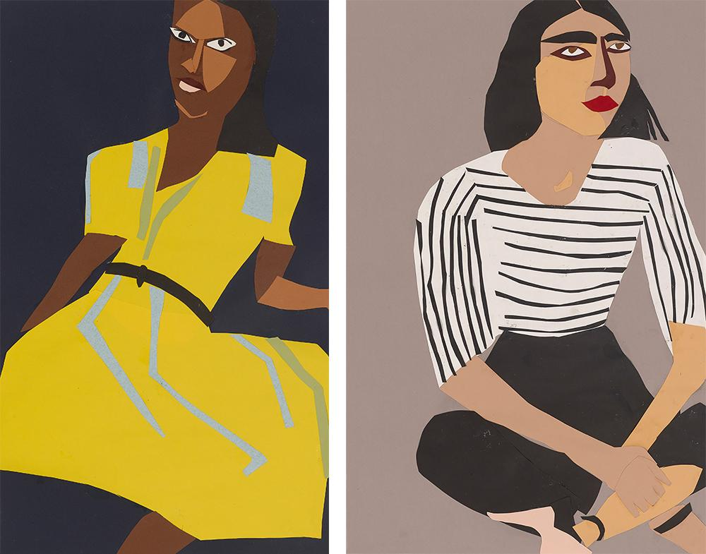 Portraits by Chantal Joffe