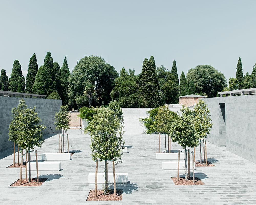 San Michele island cemetery by David Chipperfield Architects