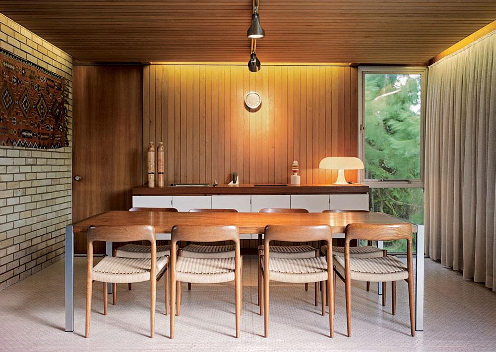 John Bonnington modernist dining room