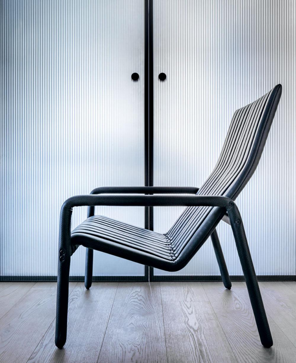 Philippe Malouin 'Alexander Street' side chair for Man of Parts