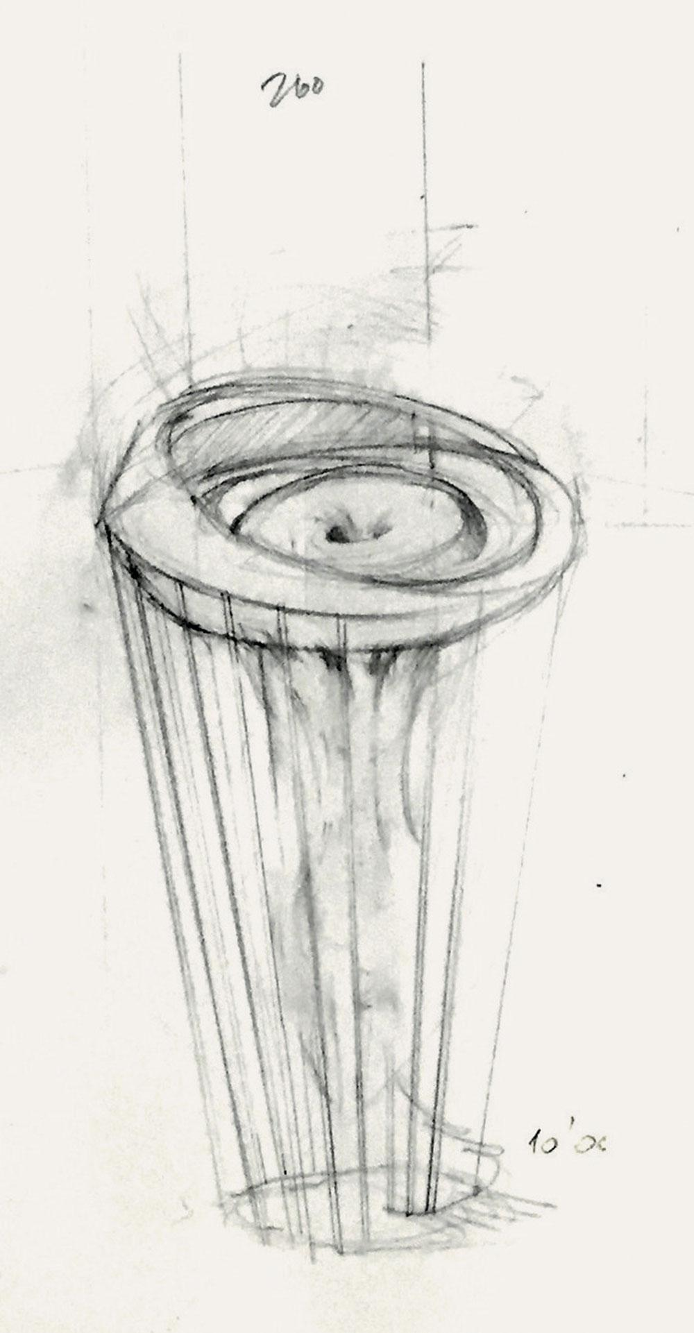 Sketch of Console by Clara Yee and Da a