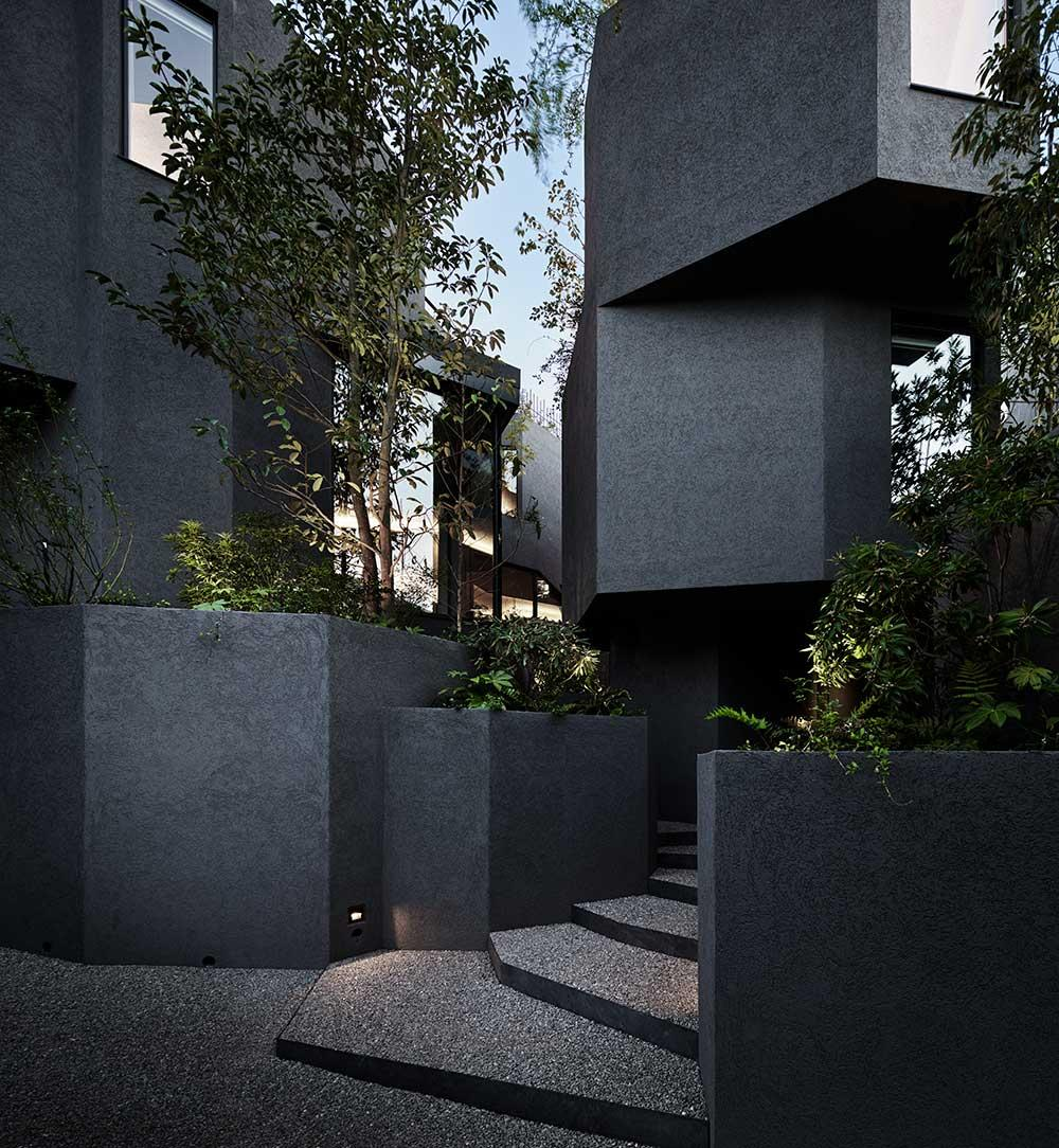 Artechnic brings life to a concrete corner of Tokyo