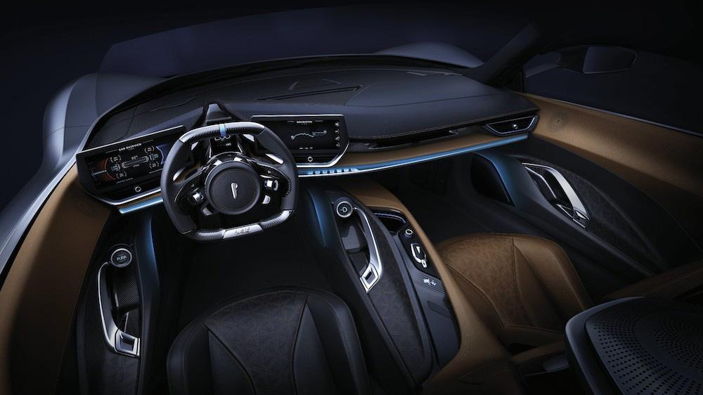 Automobili Pininfarina Battista interior