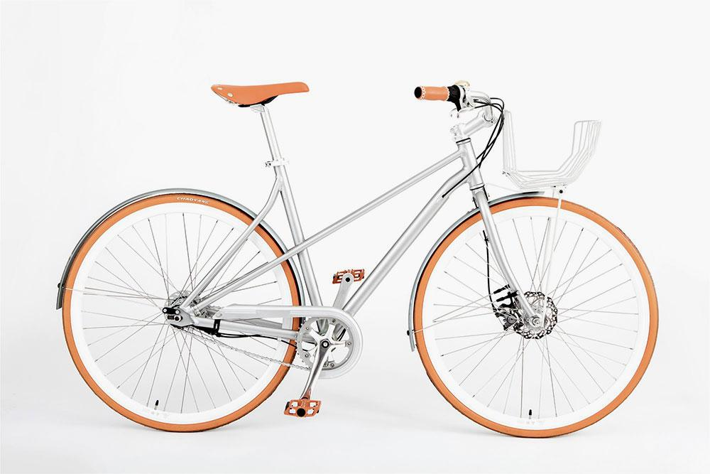 Vélosophy Comfort Edition bike in orange