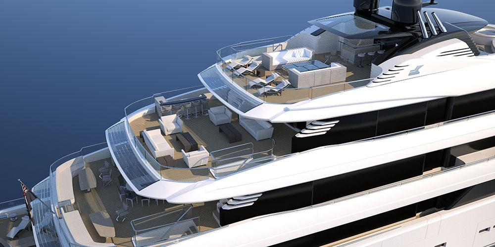 CRN She Yacht by Vallicelli