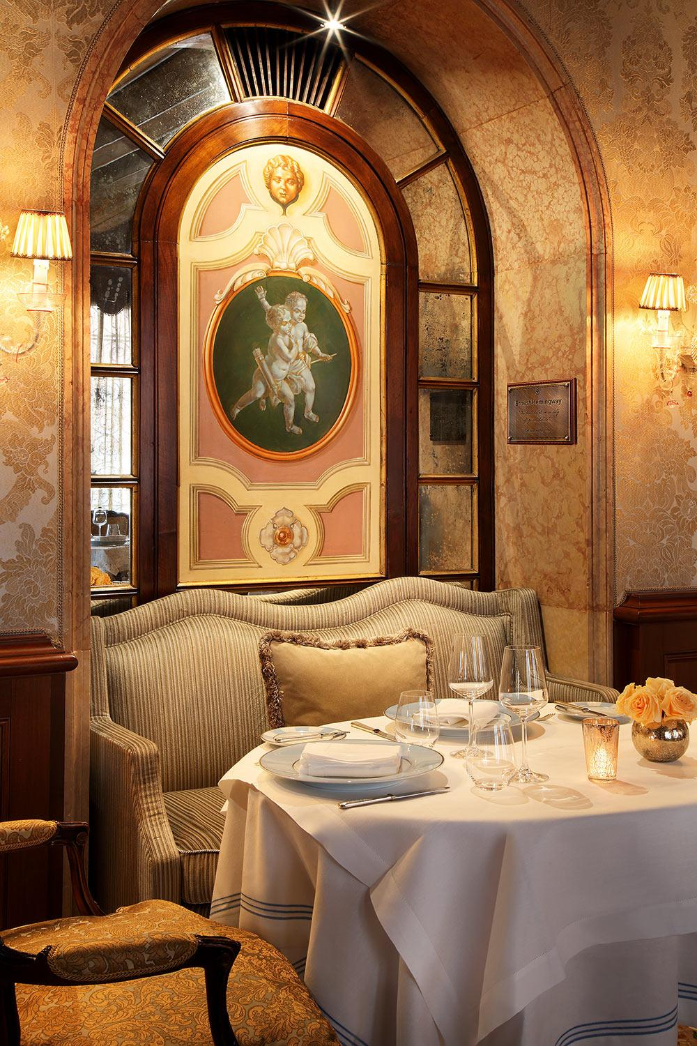 The restaurant at Gritti Palace, Venice, Italy