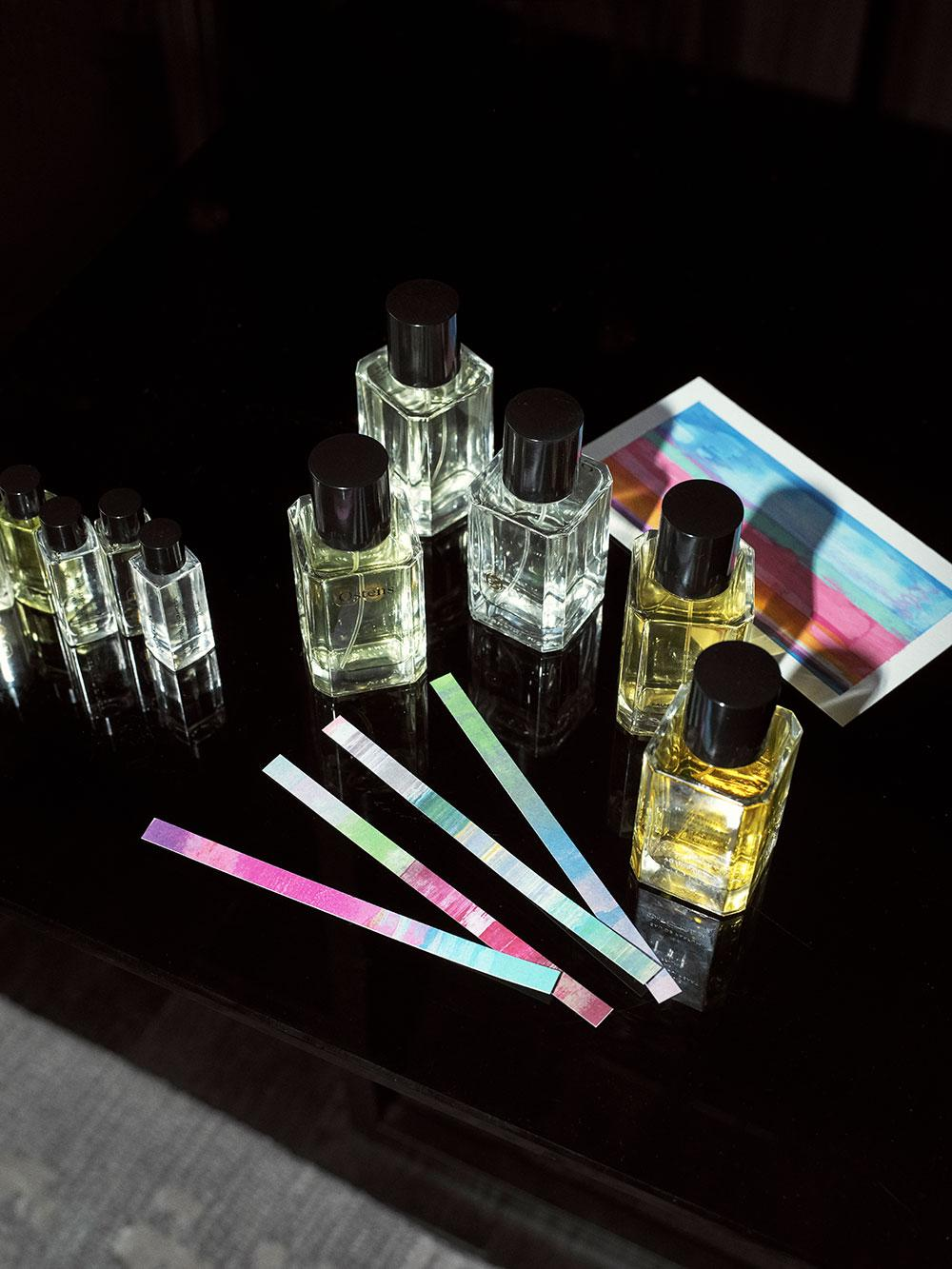 Ostens fragrance visualisation