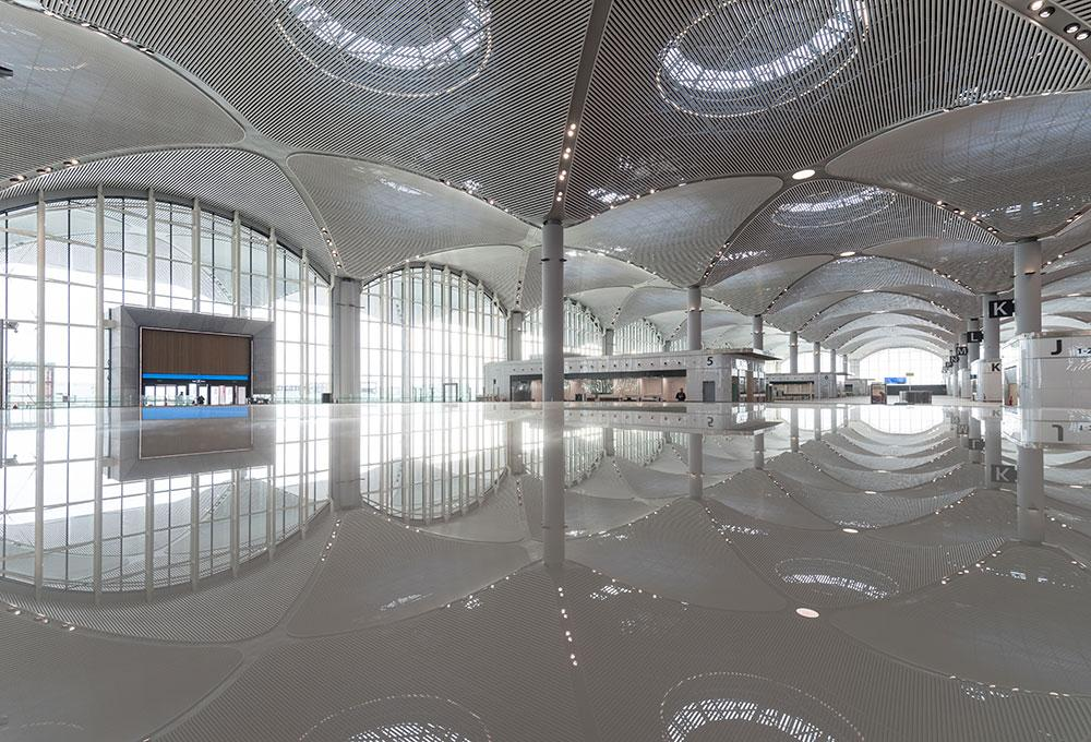 Istanbul Airport by Haptic Architects, Grimshaw Architects and Nordic Office of Architecture
