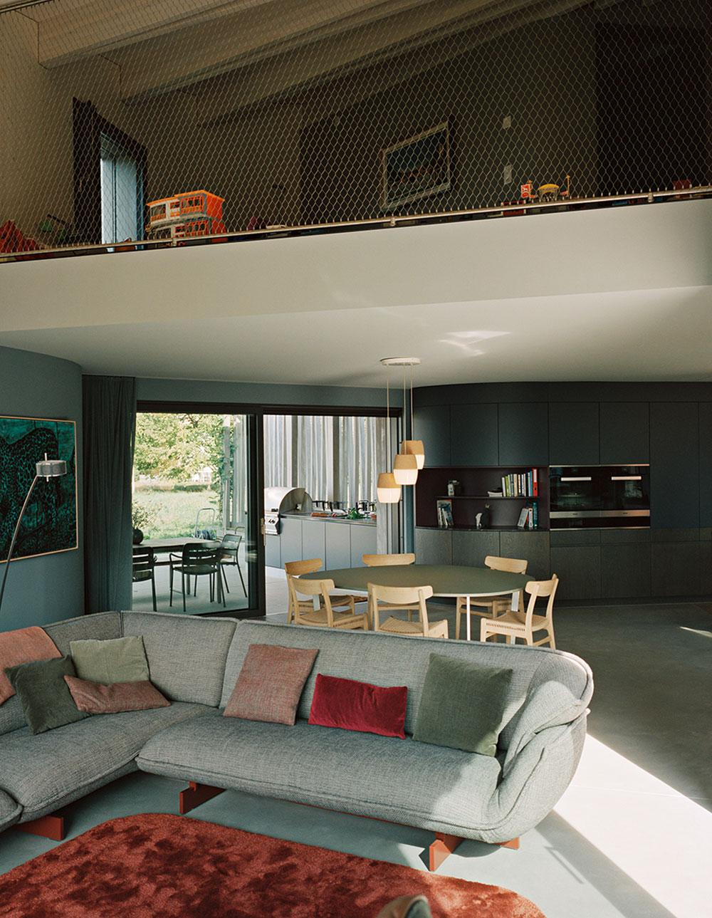 Baier Bischofberger Architects living room