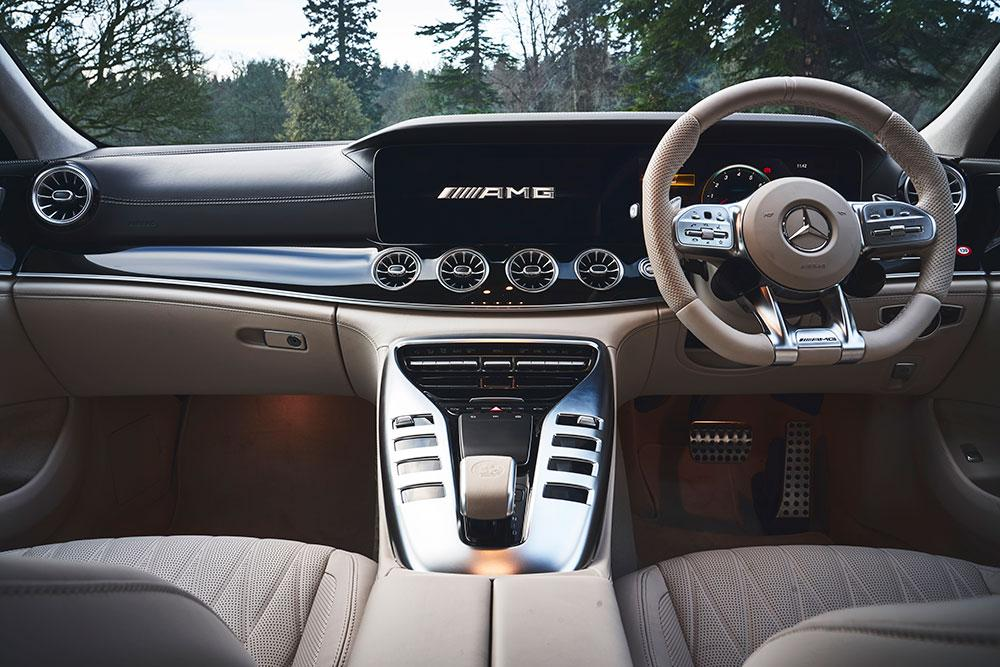 mercedes amg gt four door coupe review and testdrive 2019 wallpaper. Black Bedroom Furniture Sets. Home Design Ideas