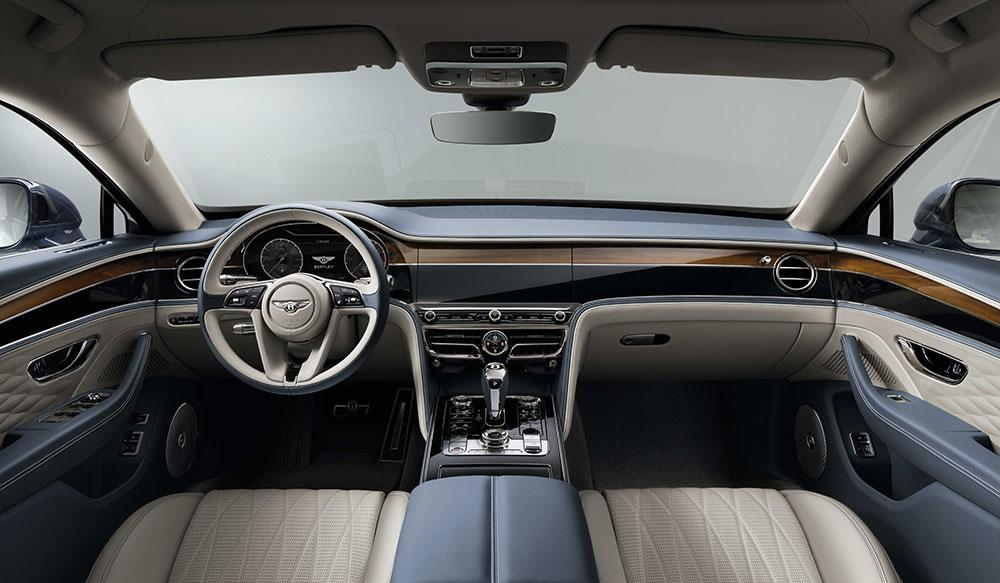 Bentley Flying Spur cabin