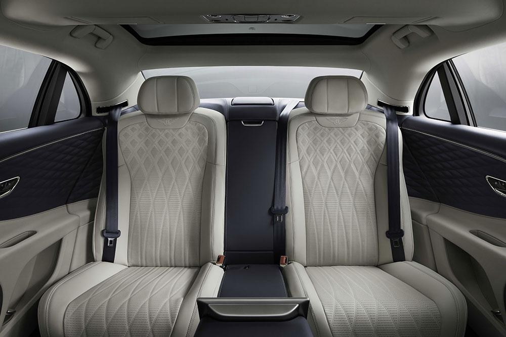 Bentley Flying Spur passenger seats
