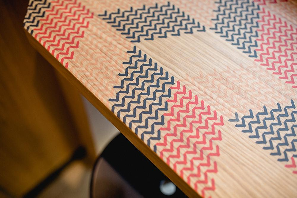 Table design at Pink Fish, Norway
