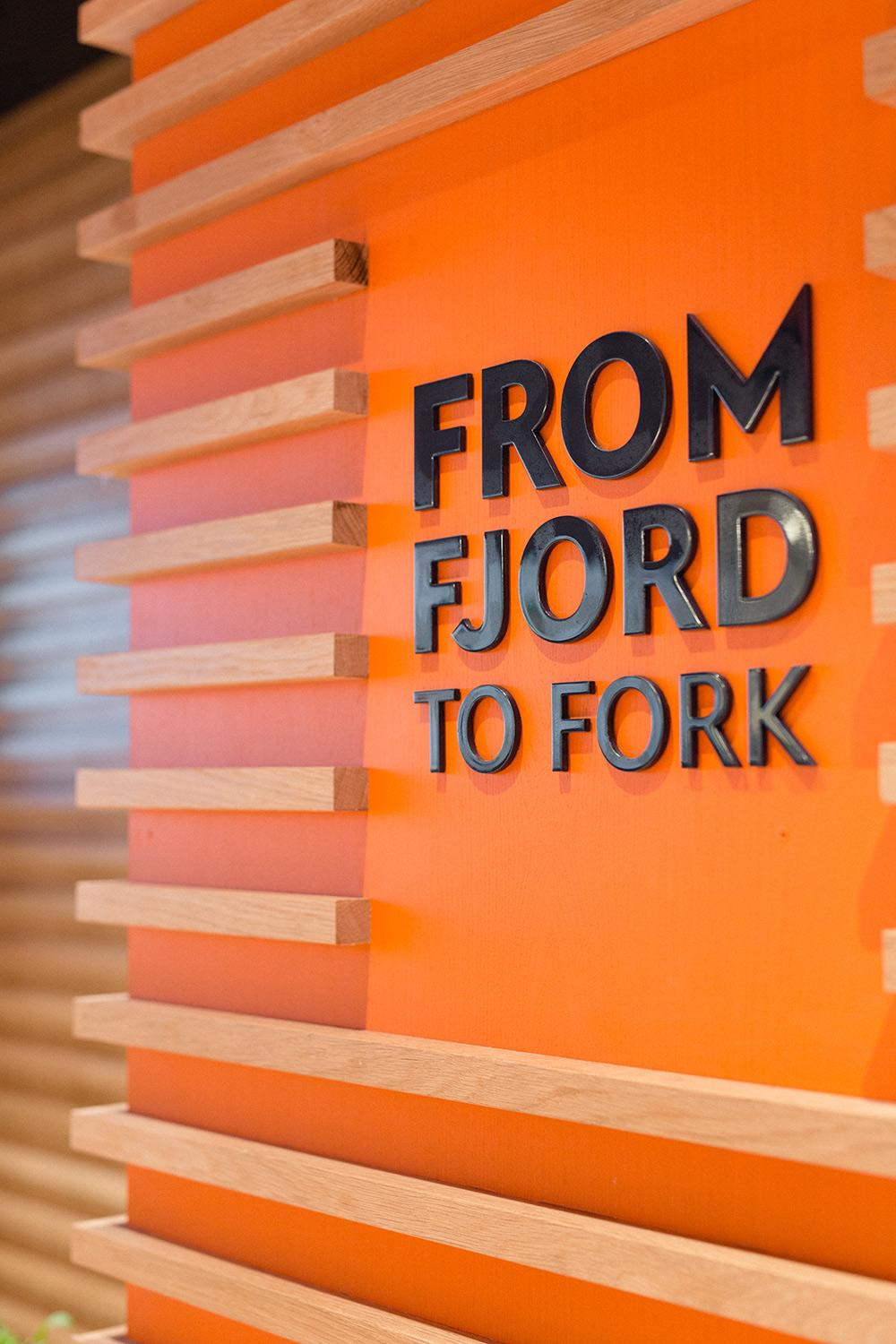 From fjord to fork – the tagline for Pink Fish