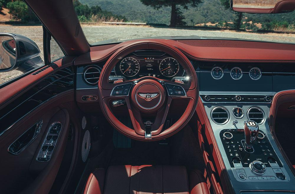 Bentley Continental GT V8 cabin