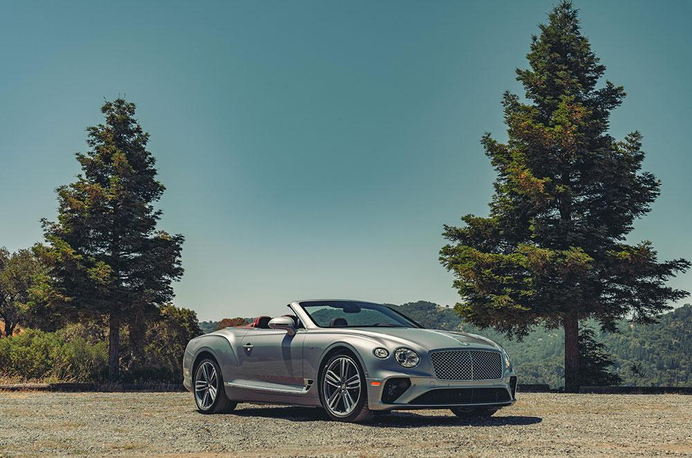 Bentley Continental GT V8 exterior