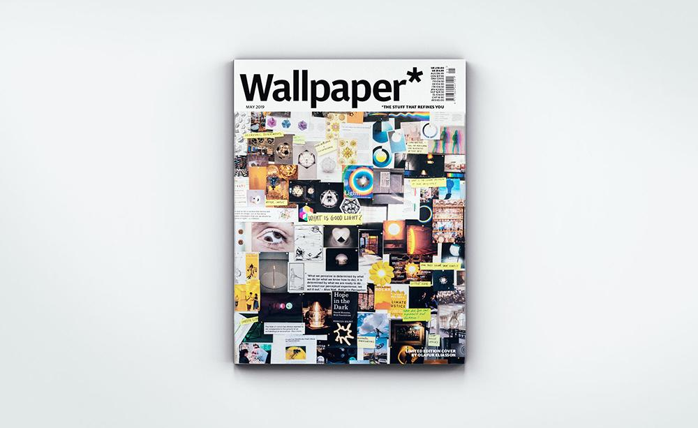 Wallpaper* Magazine May 2019 cover by Olafur Eliasson
