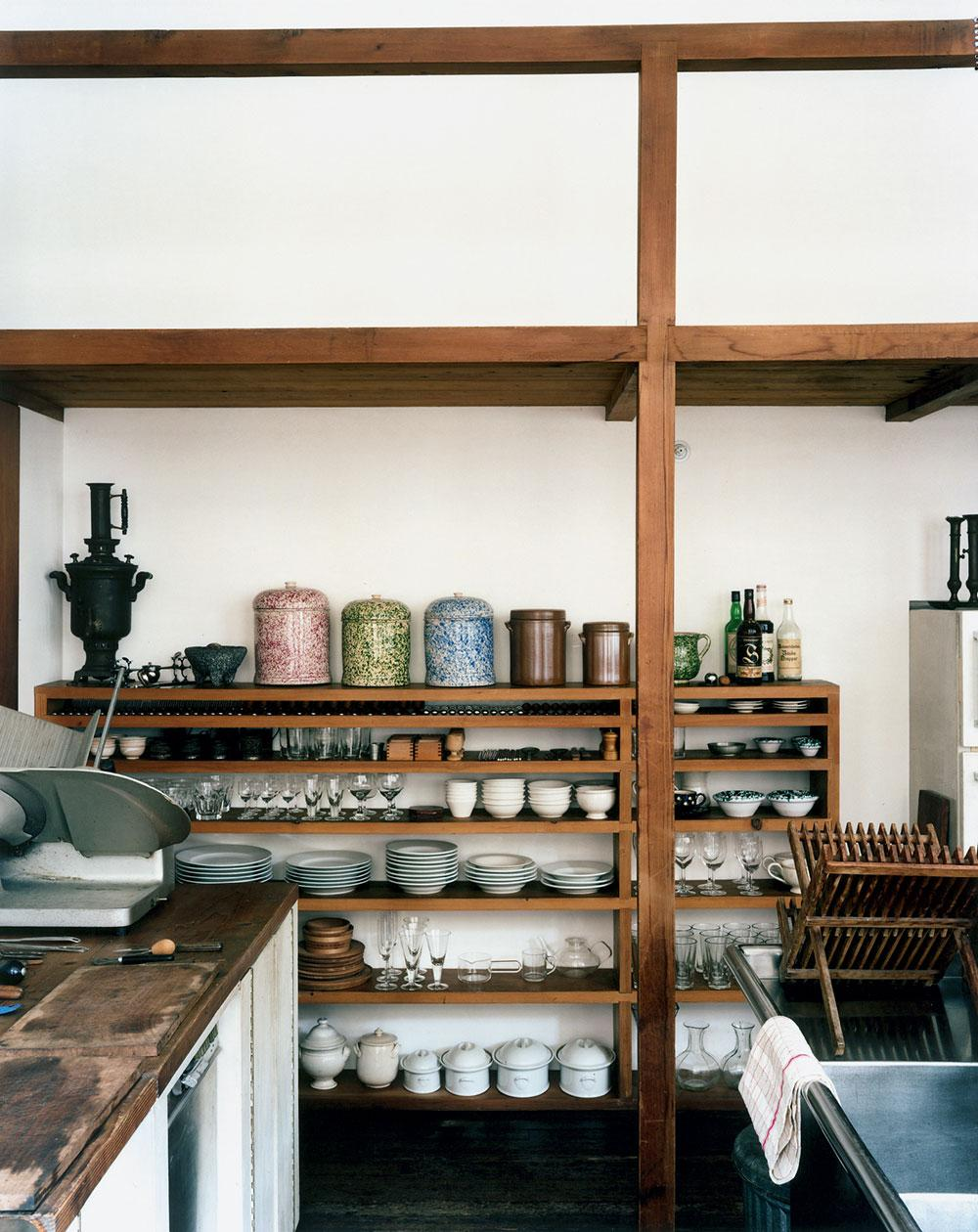 101 Spring Street kitchen by Donald Judd