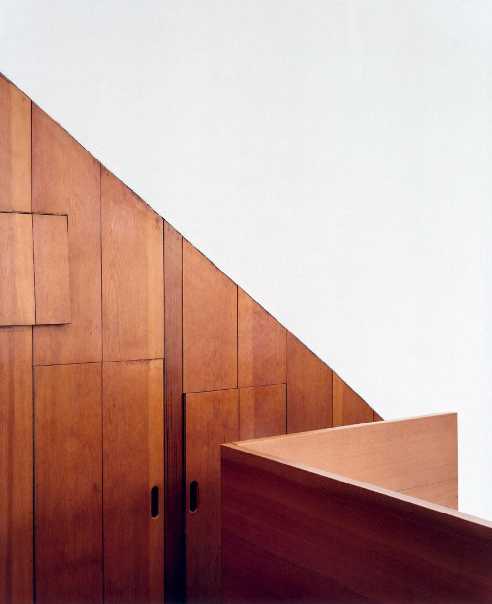 Donald Judd wooden closets