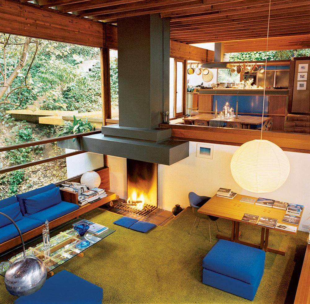 Ray Kappe's house interior