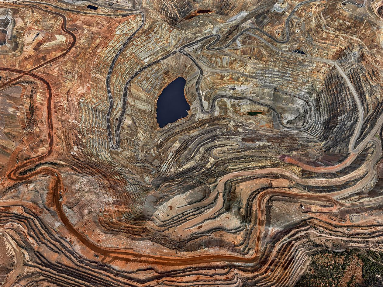 Chino Mine #5, Silver City, New Mexico, USA, 2012, by Edward Burtynsky