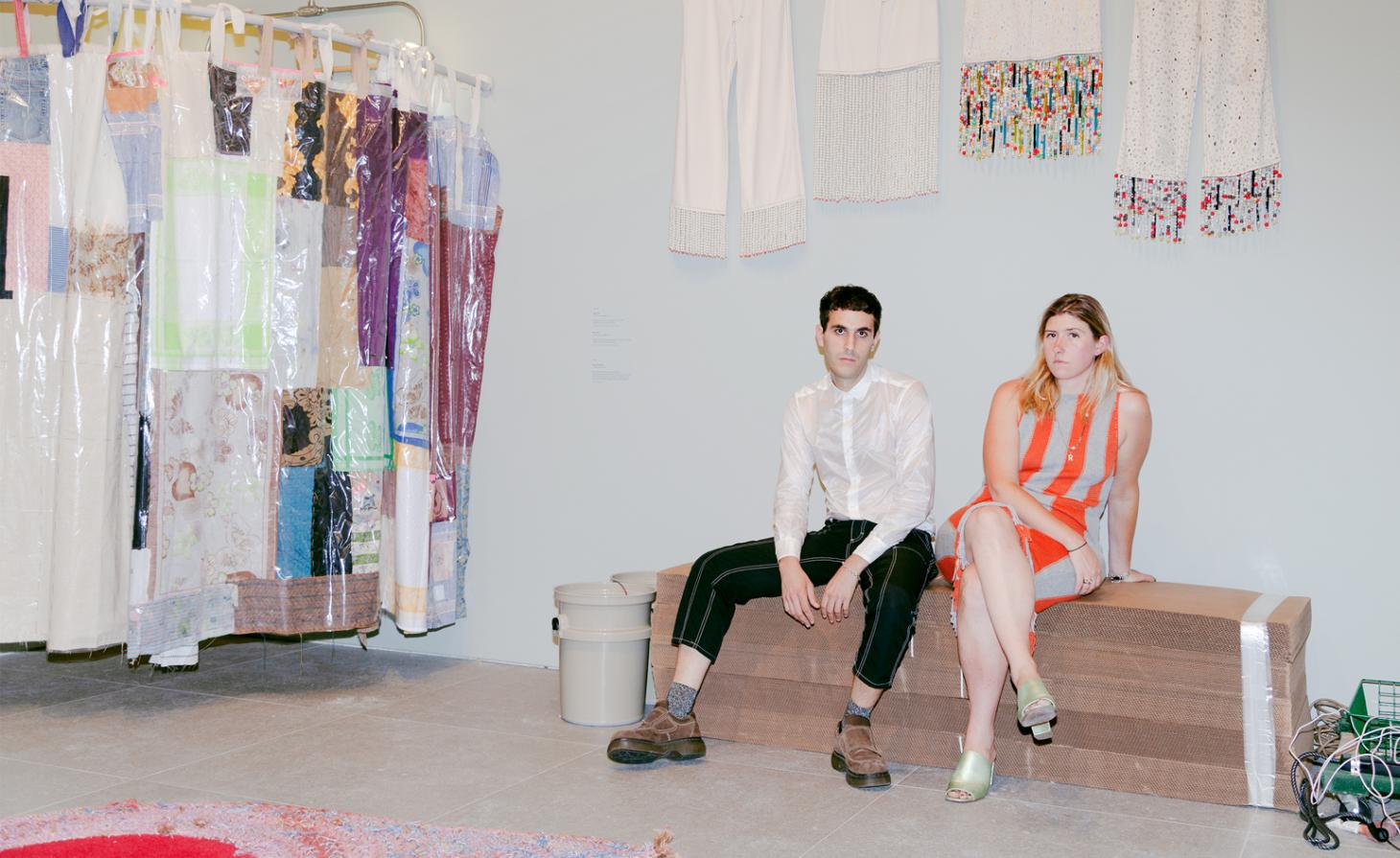 Portrait image of Mike Eckhaus and Zoe Latta