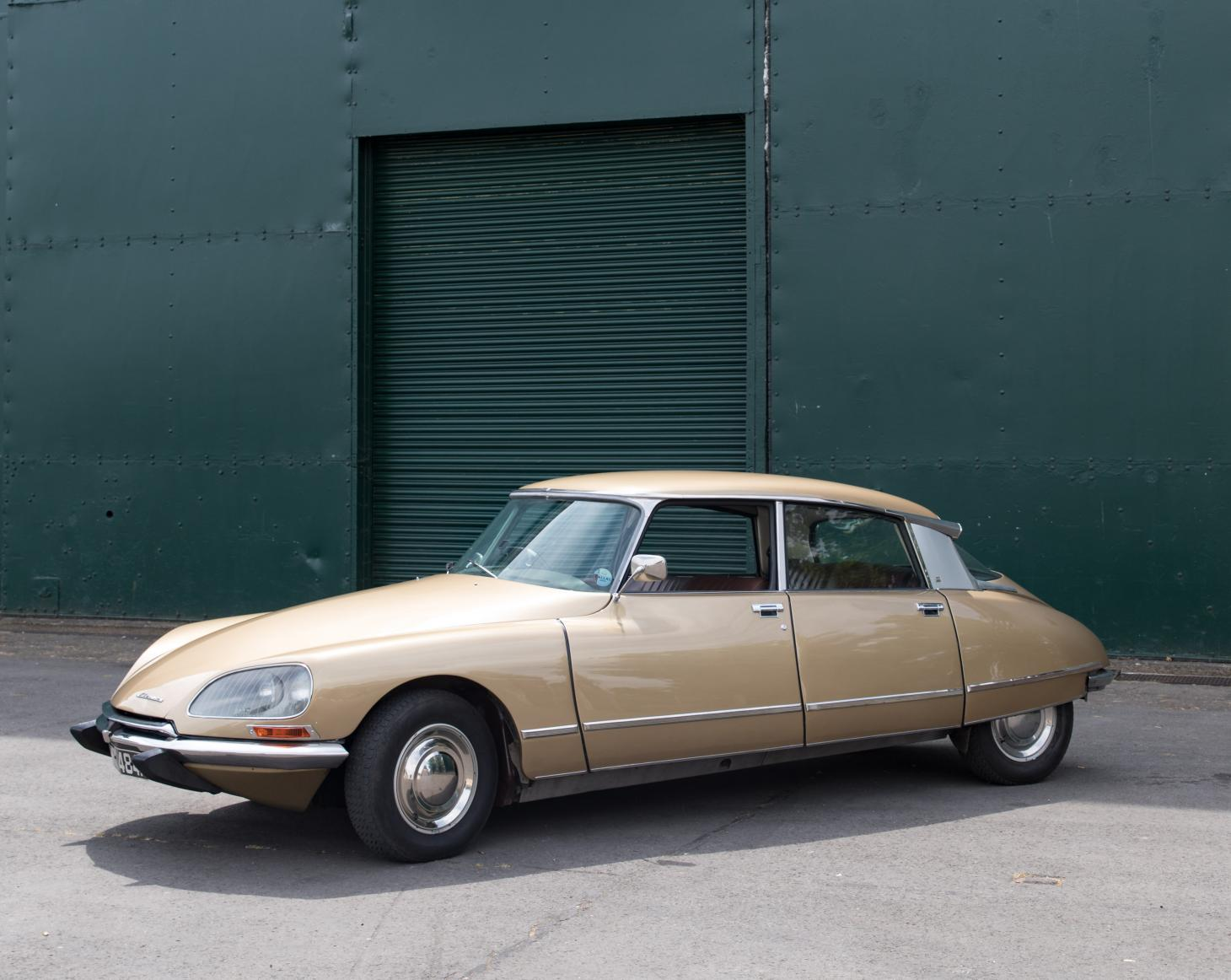 Electrogenic's newest vehicle, the Citroen DS