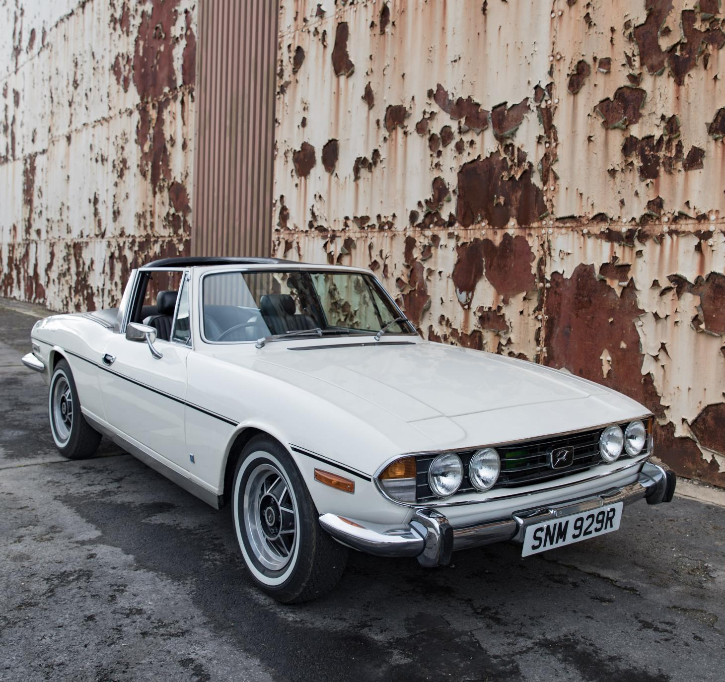Electric Triumph Stag by Electrogenic