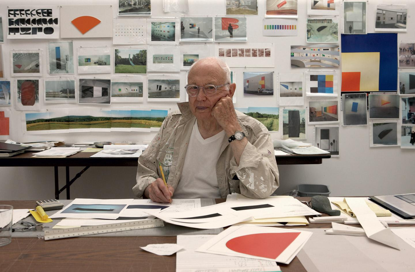 Ellsworth Kelly, Spencertown, New York, 2012
