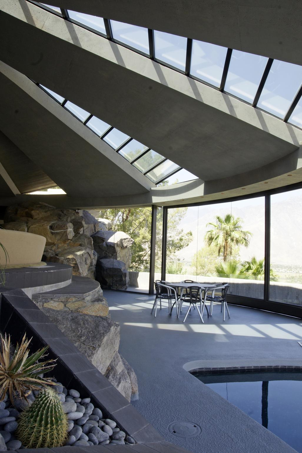 Elrod House in Palm Springs by John Lautner